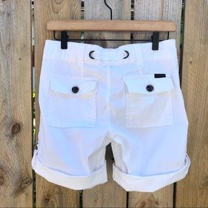 Anthropologie Shorts - Sanctuary | Getaway White Shorts Size 27